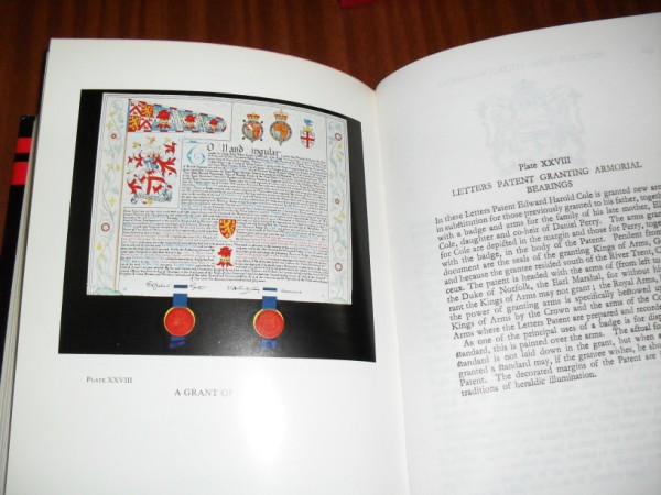 BOUTELL'S HERALDRY. Revised by J. P. Brooke-Little, Norroy and Ulster King of Arms. With 28 plates in colour and numerous text figures