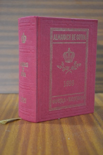 ALMANACH DE GOTHA. Annual Genealogical Reference. Volume I (Parts I & II) 1999. One hundred and eighty third edition