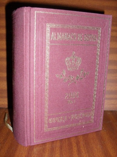 ALMANACH DE GOTHA. Annual Genealogical Reference. Volume I (Parts I & II Families) 2004. One hundred and eighty seventh edition