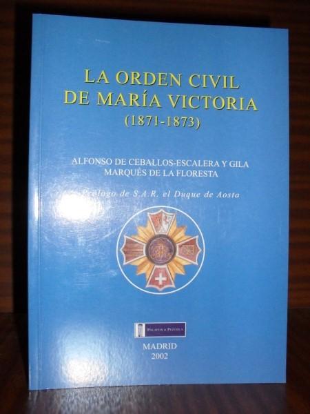 Resultado de imagen de orden civil de maria victoria