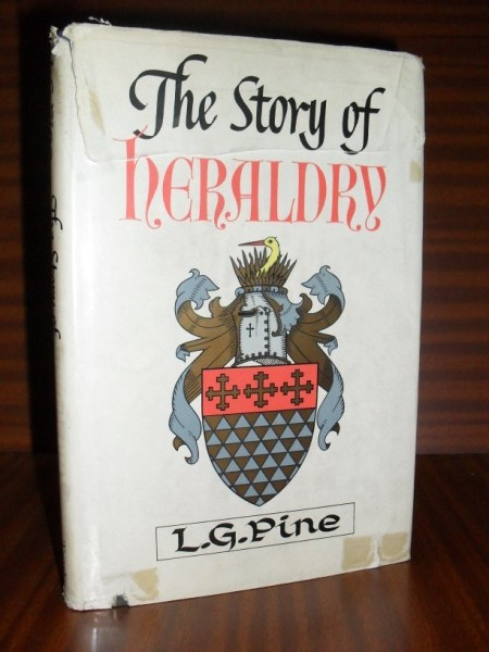 THE STORY OF HERALDRY. With wood engravings by K.F. Rowland